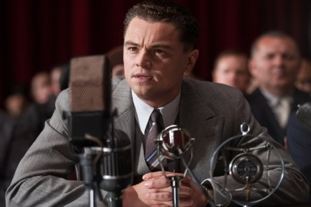 Leonardo Dicaprio as J Edgar Hoover