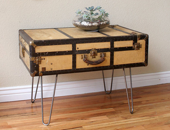 Etsy Shop, Dingaling - Vintage suitcase coffee table