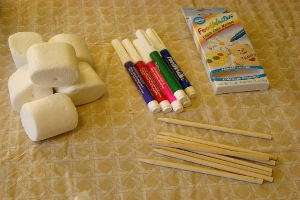 Marshmallow Art Supplies