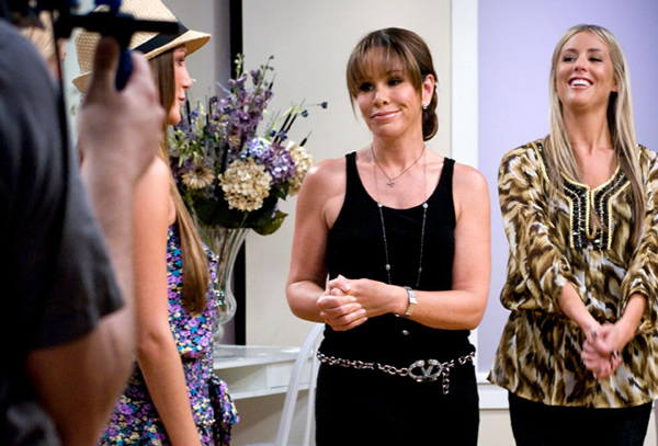 Melissa rivers making a TV appearance