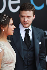Mila Kunis and Justin Timberlake photos stolen