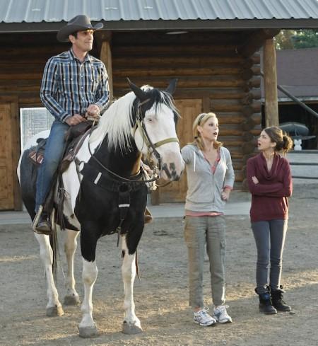 modern family horses around!