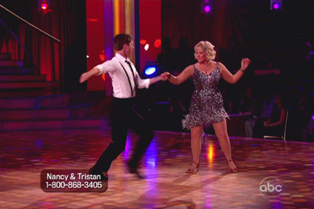 Nancy Grace on DWTS