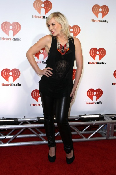 Natasha Bedingfeld at the iHeartRadio Music Festival