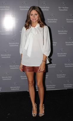 Olivia Palermo at Mercedes Benz Fashion Week 2011