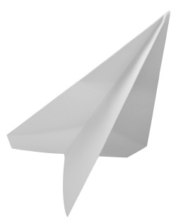 The fun is designing a winning paper plane!