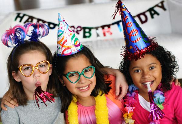 Birthday party fun, Arizona style