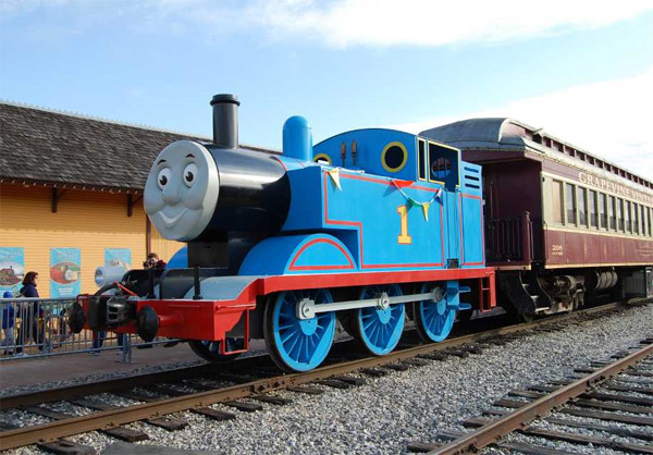 Grapevine railroad - Thomas