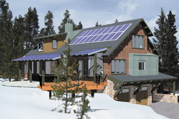Off-the-grid home