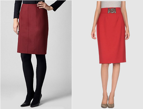 Fabulous fall skirts for 'pears'