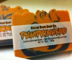 Pumpkinhead bar soap