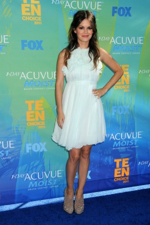 Rachel Bilson at the 2011 Teen Choice Awards