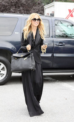 Rachel Zoe at fashion week 2011
