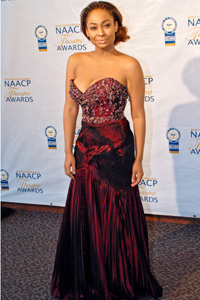 Raven Symone at NAACP Awards