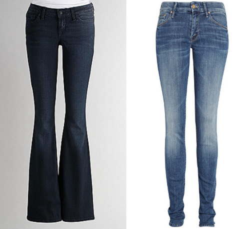 Jeans for rectangle body types