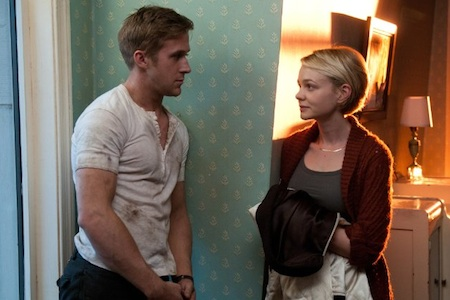 Ryan Gosling and Carey Mulligan in Drive