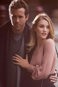 Ryan Reynolds and Rosie Huntington-Whiteley Marks and Spencer