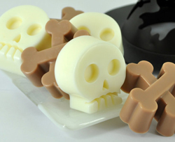 Skull and crossbone soap