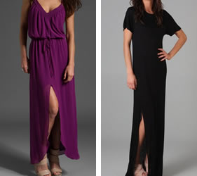 slit dress for everyday fashion week style