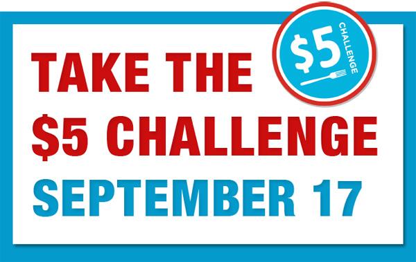 Take the $5 callenge
