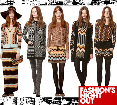 Missoni for Target during Fashion's Night Out