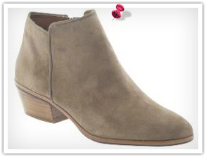Low heeled boots