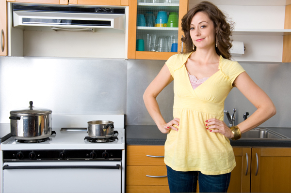 Clean your cabinets and ditch the clutter