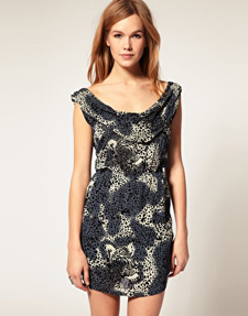 Motel Animal Print Dress ($31, on sale)