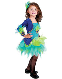 Girl-Halloween-Costume-Peacock