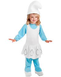 Girl-Halloween-Costume-Smurfette