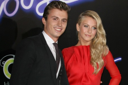 Kenny Wormald and Julianne Hough, Footloose premiere