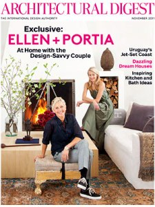 At home with Ellen & Portia