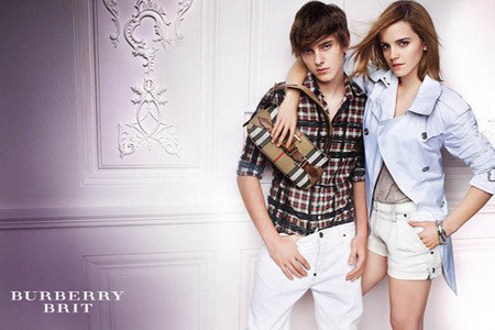 Alex and Emma Watson Burberry