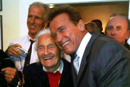 Schwarzenegger's memory lane