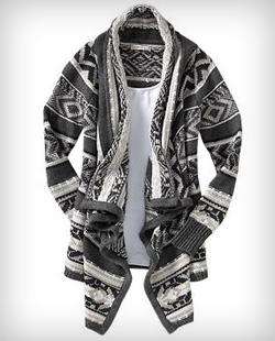 Cozy cardigan-jacket