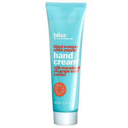 Sweet & spicy hand cream