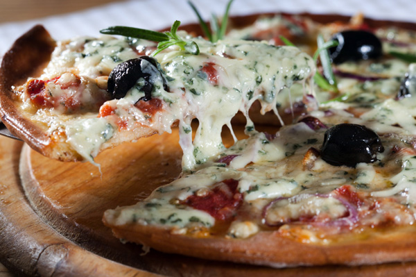 The world is round: Celebrate with pizza