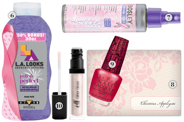 Products that support breast cancer awareness