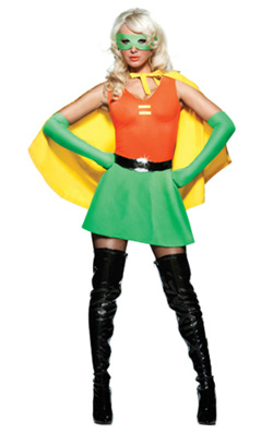 super hero side-kick costume