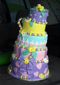 Dana Herbert's cake