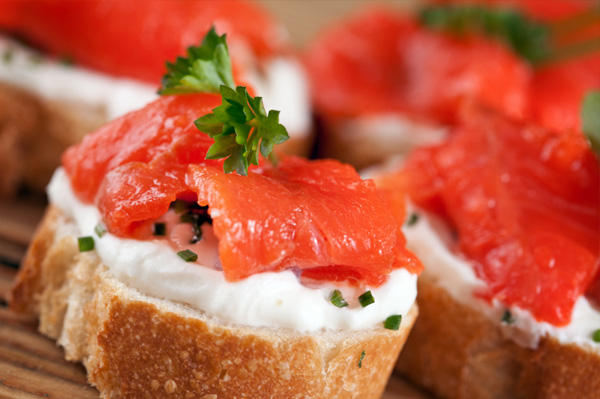 How to make any appetizer look gourmet for Gourmet canape ideas