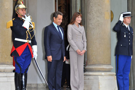Sarkozy and Bruni weren't even aware of the child's sex before her birth.