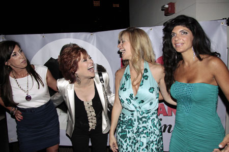 Caroline Manzo and Dina Manzo on the outs