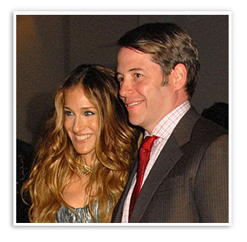 Sarah Jessica Parker, married to Matthew Broderick for 13 years
