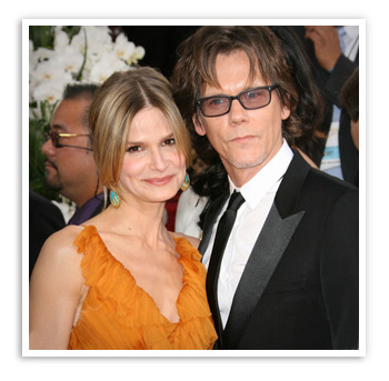 Kyra Sedgwick, married to Kevin Bacon for 23 years