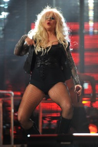 Christina Aguilera's big bill
