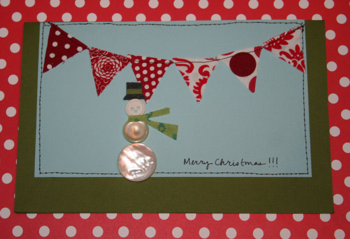 Christmas craft homemade christmas cards for Christmas card ideas to make at home