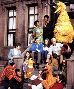 skinny Sesame Street