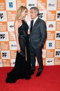 Keibler & Clooney's red carpet debut