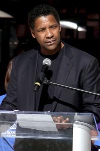 Denzel Washington, Phylicia Rashad unite